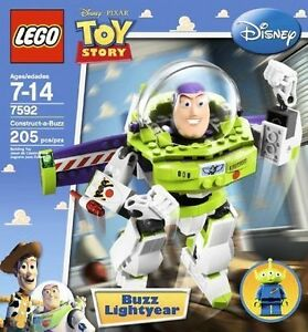 Disney Buzz Lightyear NEW Lego 7592 Toy Story Construct-a-Buzz FACTORY SEALED