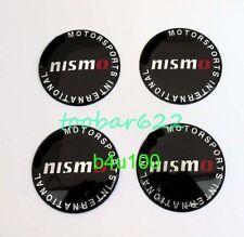 T Metal Tyre Wheel mark Center Hub Cap Emblem Badge Stickers 60mm nismo #444