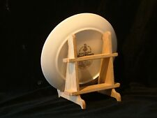 OAK WOODEN SMALL PLATE STAND
