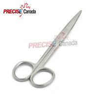 "Mayo Scissors 5.5"" Straight Blades Round Points Surgical Dental Instruments"