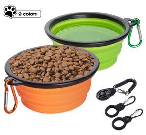 Hundenapf faltbar Faltnapf Futternapf Wassernapf Fressnapf Trinknapf+Hunde Click