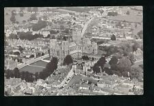 Somerset WELLS Aerial View Used 1922 PPC by Photochrom