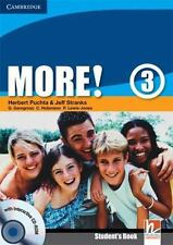 More! Level 3 Student's Book With Interactive Cd-Rom: By Herbert Puchta, Jeff...
