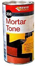 EVERBUILD 208 Powder Mortar Tone 1KG Cement Pigment Dye COLOUR = BLACK