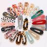 Women Girls Hairpin Glitter Hair Slide Clip Leopard Print Barrette Jewelry Gift
