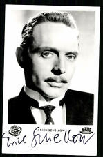 Erich Schellow Netters Verlag Autogrammkarte Original Signiert ## BC 12383