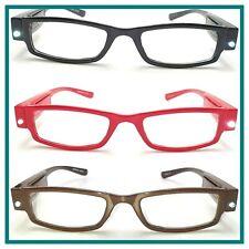 Occhiali da lettura uomo donna vista occhiale 1 50 1.5 2 2.5 4 diottrie con led