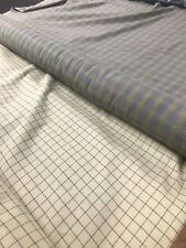 Flannel Tartan Check Fabric 100% Soft Cotton