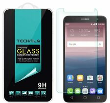 TechFilm® Tempered Glass Screen Protector Saver For Alcatel Onetouch Allura
