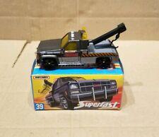 Matchbox Superfast GMC Wrecker , 1/72 scale toy model car , mint in box