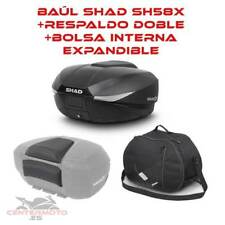 Bauletto Shad Sh58x extensible carbono ataque Yamaha TDM 900 2014