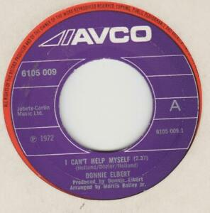 Donnie Elbert I can't help myself AVCO 6105 009 EX
