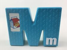 Tyco Sesame Street Textured Alphabet Replacement Letter M Vintage 1994