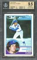 Ryne Sandberg Rookie Card 1983 Topps #83 Chicago Cubs BGS 9.5 (9 9.5 9.5 9.5)