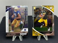 2020 Panini Prizm & Absolute Football Chase Claypool 2 Card LOT