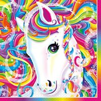 Lisa Frank Rainbow Beverage Napkins Birthday Favor Party Decoration Supply