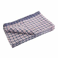 More details for nisbets essentials tea towels multicoloured cotton & polyester - pack of 5