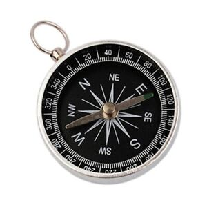 Portable Pocket Compass Hiking Scouts Walking Camping Survival AID Guide Tool UK