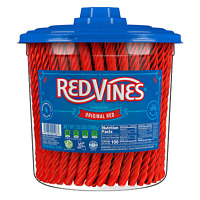 Licorice Original Red Flavor Soft & Chewy Candy Twists 3.5 lbs 56 Ounce New