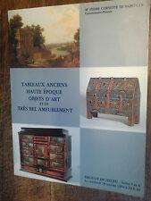 Importants tableaux modernes art contemporains vente drouot Cornette de St Cyr