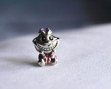 Charm Pandora Gato de Cheshire [Plata de Ley 925] [Disney]