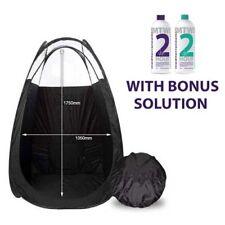 SPRAY TAN TENT - Pop Up Tent with Carry Bag & 2x 125ml BONUS SOLUTION