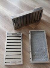 Flammschutzfilter Abluftfilter  / Edelstahl 500x250x50mm / Gastro