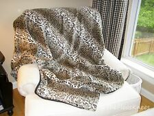 Faux Fur Throw Blanket 50 x 60