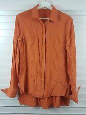 WILLOW sz 8 womens dot print silk shirt / top RRP$395 [#852]