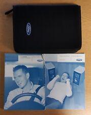 GENUINE FORD FIESTA HANDBOOK OWNERS MANUAL WALLET 2005-2008 PACK D-729