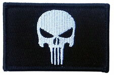 Tactical Morale Operator Punisher Skull army Embroidered Iron On/Sew On Patch
