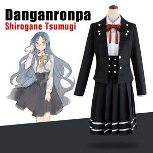 Danganronpa V3 Killing Harmony Shirogane Tsumugi Uniform Cosplay School Suit New