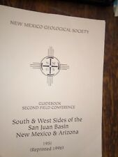 New Mexico Geological Society Guidebook Second Field Conference 1951 Paperback