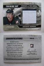 2011-12 ITG Canada vs World TDN-7 Brenden Morrow 1/6 training day number RARE