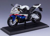 1/12 scale Maisto S1000R Motorbike Model Diecast Blue&White Motorcycle Collect
