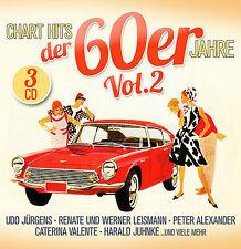 CD Chart Hits der 60er Jahre Volume 2 von Various Artists  3CDs