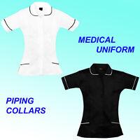 Nurses Healthcare Tunic Hospitality Maid Carers Therapist Dentist Beauty Uniform
