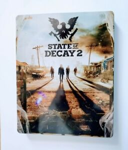 Scanavo Steelbook State Of Decay 2 Case Microsoft Xbox One No Game New Case Only