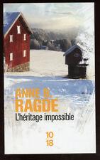 10/18. ANNE B. RADGE: L'HERITAGE IMPOSSIBLE. 2013.