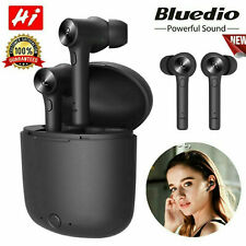 In-ear pods con ladecase Bluedio Hi (huracán) Bluetooth 5.0 auriculares Android