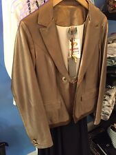 Guarapo Studio Bronze 100% Leather Jacket Size 46 & 48 Made In Italy 🇮🇹