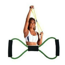 Yoga Rope Latex Resistance Bands Pulley Lines Fitness Exercise Stretch Body
