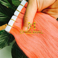 7A Seamless Tape In Skin Weft 100% Remy Human Hair Extensions 16-26Inch 30-70g