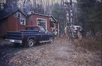 Vintage Photo Slide 1993 Buck Doe Opening Day Hunting Deer