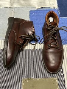 Vintage RED WING boots 8616 Made In U.S.A men's size 9 chukka leather laces