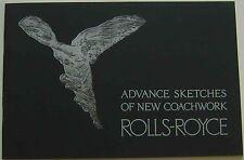 Rolls-Royce 40/50 HP Phantom 1 Coachwork 1925 USA Sales Brochure good REPRINT
