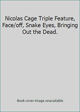 Nicolas Cage Triple Feature, Face/off, Snake Eyes, Bringing Out the Dead.