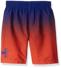 87c0c99ac4 Under Armour Heatgear Youth Angle Drift Volley Swim Shorts Orange NWT $38