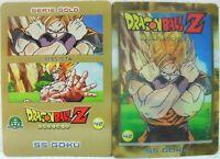 """Dragon Ball Z  """"SS Goku"""" Giochi Preziosi serie GOLD n° 42 lenticolare"""