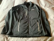 "MUSTO MEN'S BLACK MIX ""FROME"" MID-LAYER FLEECE JACKET - SIZE XL"